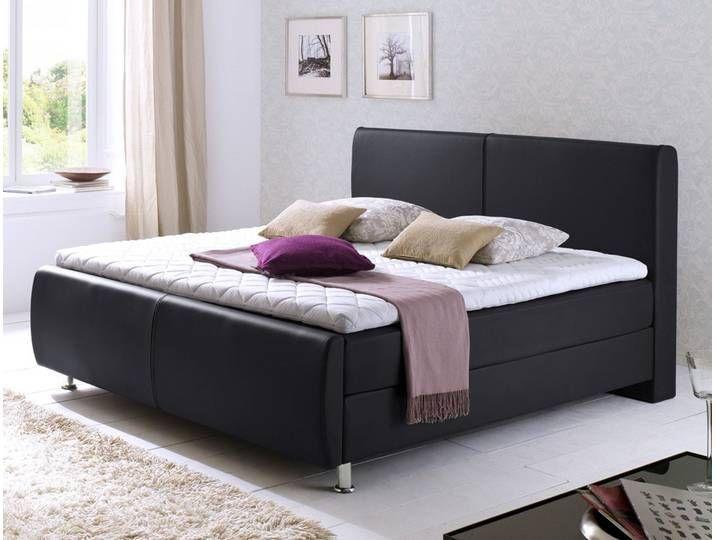 Boxspringbett Amato Schwarz Variante Box Bonnell Komfortbett Hotelbett Storage Bench Bedroom Home Decor Furniture