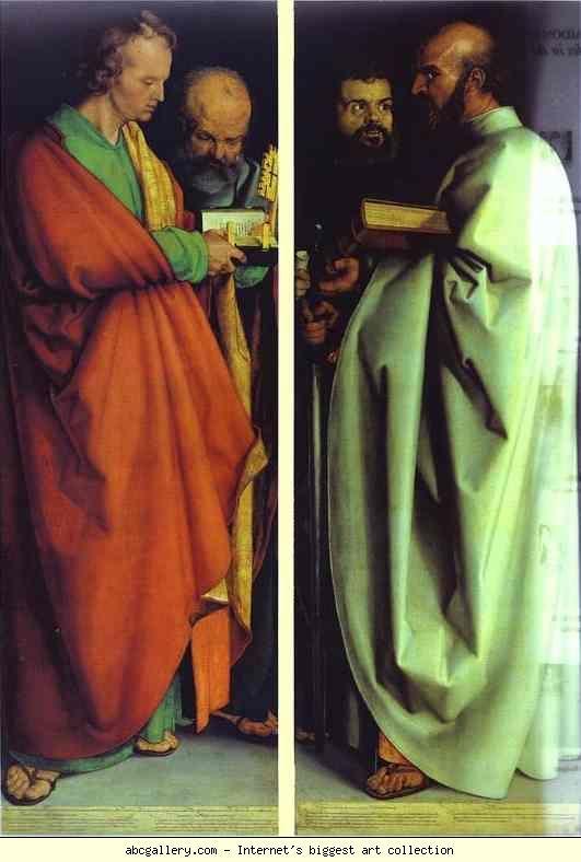 Resultado de imagen de Durero four holy men