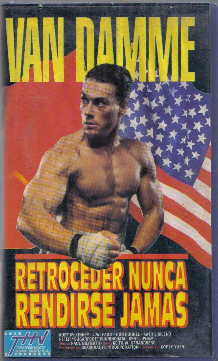 Jean Claude Van Damme - Retroceder Nunca Rendirse Jamas | Poster de ...