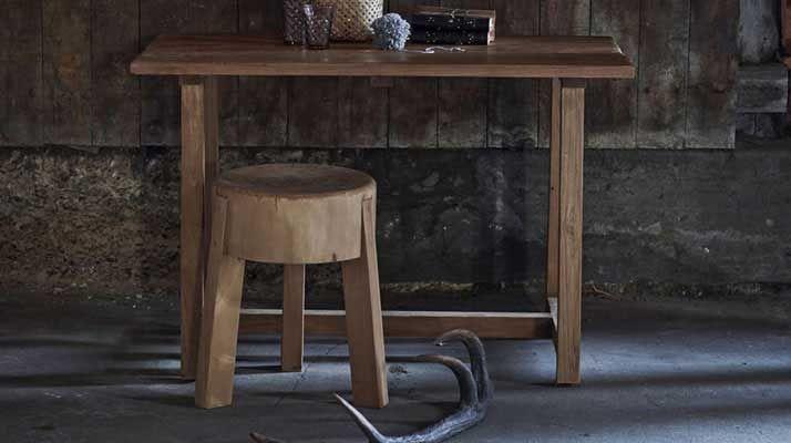 Sika Design Teakholz Hocker Roger kaufen im borono Online Shop