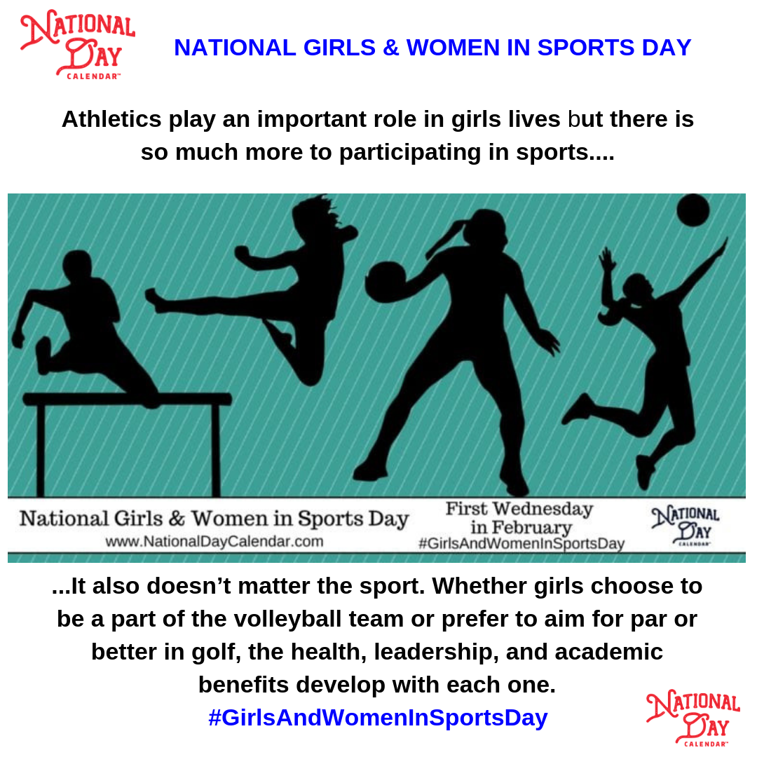 Athletics Are An Important Part Of Growing And Maturing Whether It Is Developing Lifelong Relationaships Or Discovering A Sports Day National Day Calendar Day