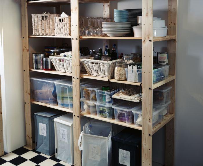 ikea pantry shelving google search pantry pinterest vorratsraum speisekammer und regal. Black Bedroom Furniture Sets. Home Design Ideas