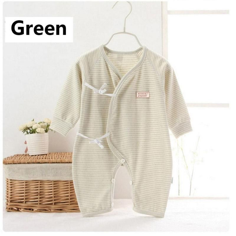 5e19cd019 Organic cotton Baby romper Clothes Long Sleeve Infant Product Baby ...