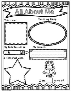 All-About-Me-FREE-1973913 Teaching Resources