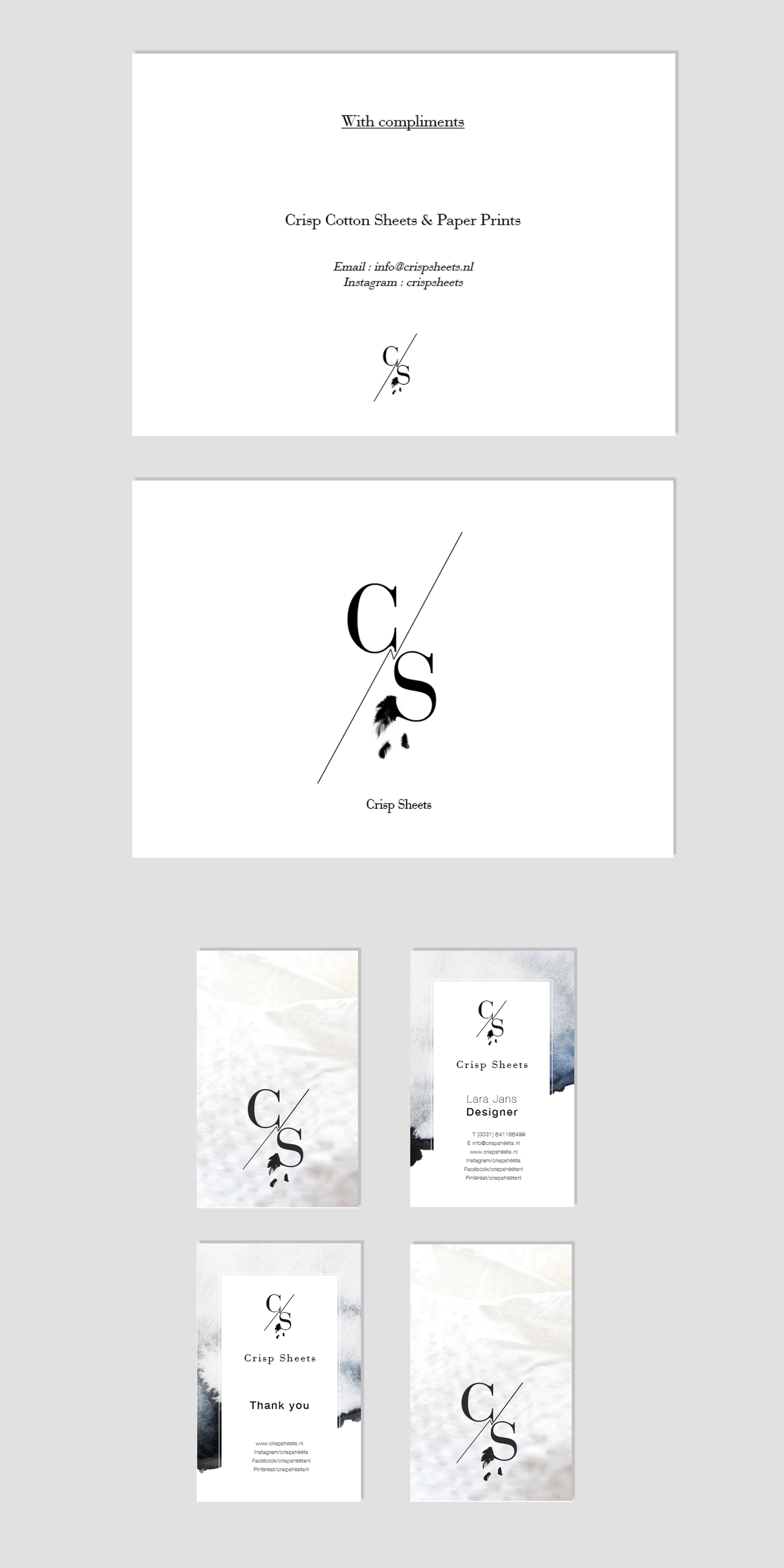 logo, branding, packaging, business card, thank you card, aquarelle ...