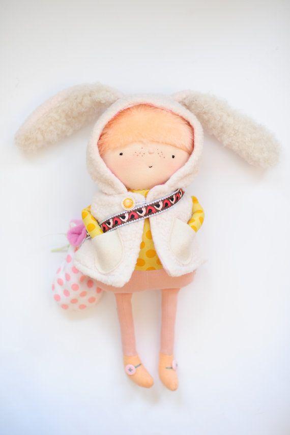 Kit the Wee Easter Elf // Easter Doll // by BoolahBaguette on Etsy