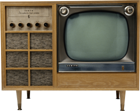 Download Gone Skiking Png Images Background Png Free Png Images Television Old Tv Black And White