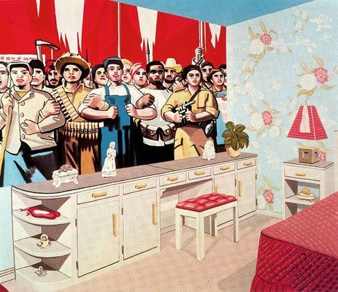 877a0bca5bd3b Erro - Interieur Americain No. 7 | Pop Art | Art, Pop art, American ...