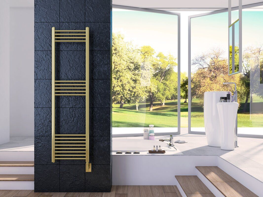 Cozy In Paris Eos Wall Mounted Electric Towel Warmer In 2020 Electric Towel Warmer Towel Warmer Wall Mount