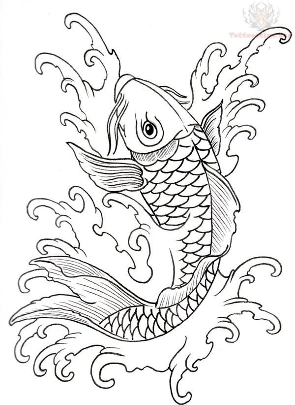 Carp Tattoo Fish Tattoos Koi Fish Drawing Tattoo T