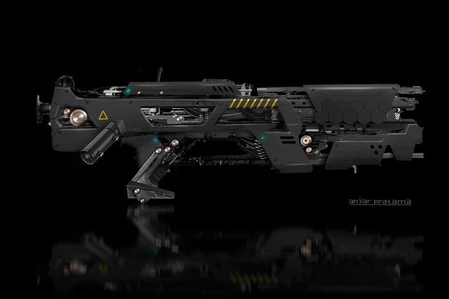 Cool Futuristic Weapon Designs   Gun Designs   Pinterest ...