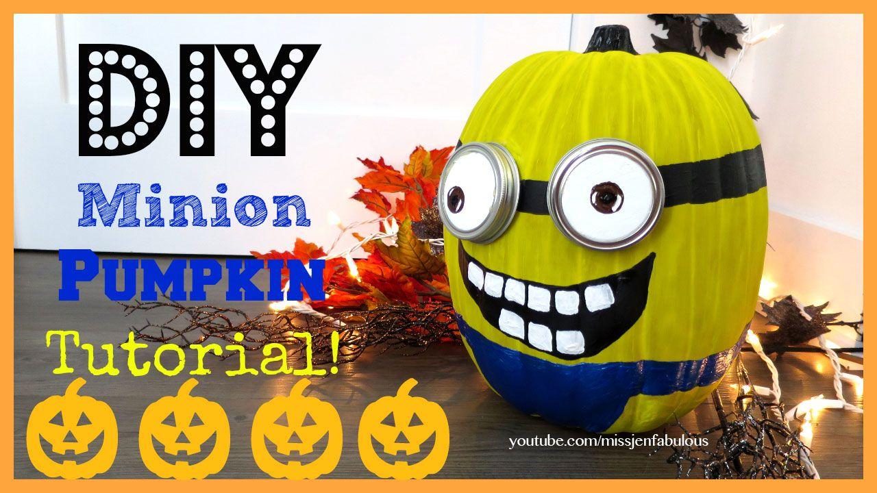 Minion Pumpkin (TheFabFox by Jenny Claire Fox) | Halloween y Dia de ...