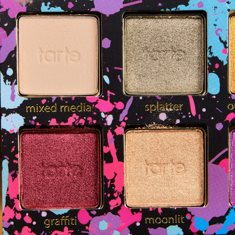 Tarte Tarteist PRO Remix PRO Palette Swatches (With images