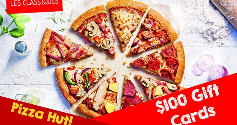 Get Free 100 Pizza Hut Gift Card Please Click On The Picture Pizza Hut Gift Card Restaurant Recipes Famous Pizza Hut