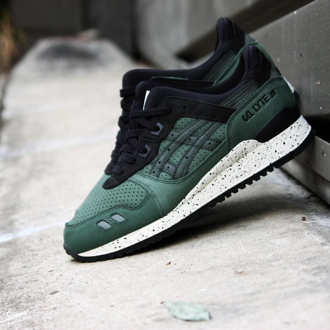 Asics Gel Lyte 3 Varsity Dark Green | Sneakers | Pinterest | Asics, Dark  and Trainers