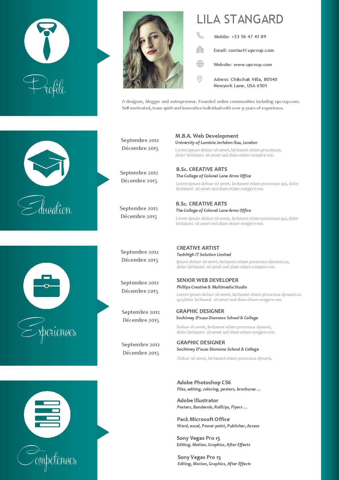 8 Modele Cv Assistante De Direction Microsoft Word Resume Template Cv Template Resume Template