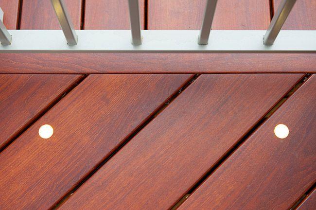 Comparison Natural Hardwood Decking Versus Zuri Decking