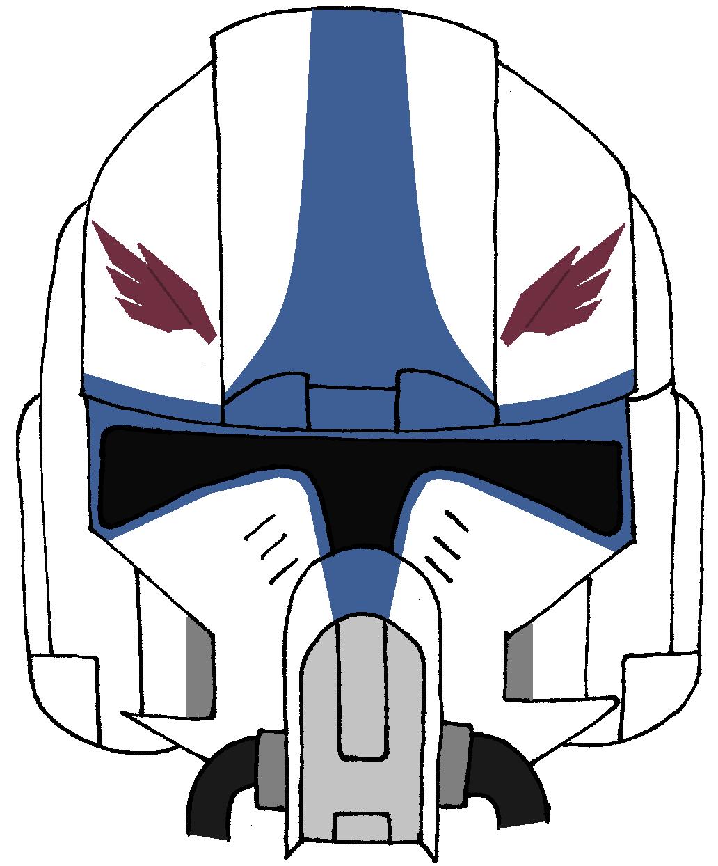 Clone Navy Pilot Hawk S Helmet 2 Star Wars Art Star Wars Images Star Wars Collection