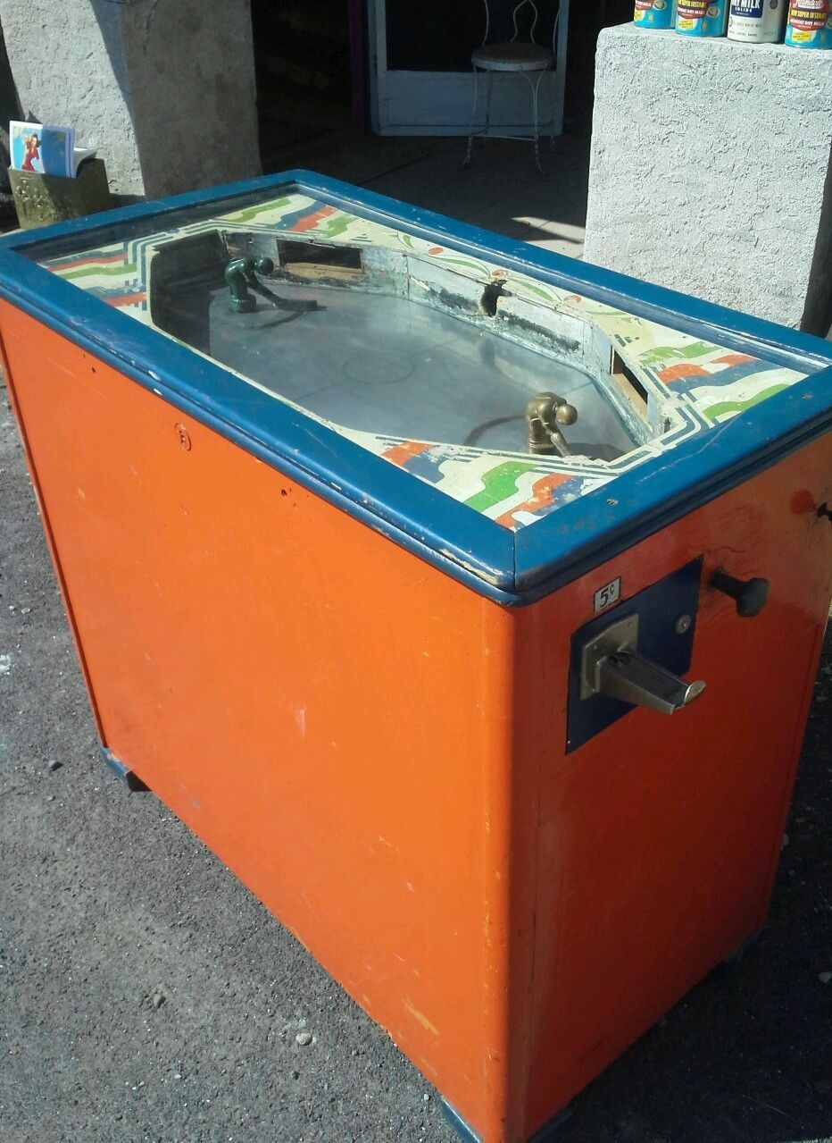 Vintage Ice Hockey Table Game Coin Operated Parts or restore