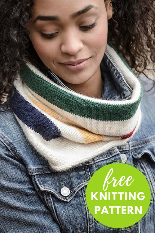 Easy Knitting Project! Albany Alpaca Cowl FREE Knitting Pattern