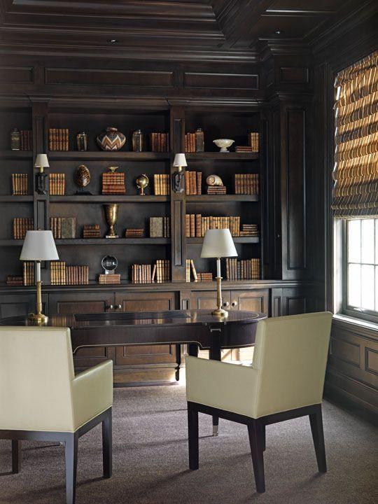 Office int rieurs jamais sans mes livres en 2019 - Decoration interieur americain ...