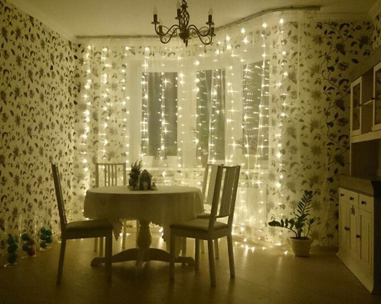Lux Outdoor Curtain Lights Sale Decorative For Garden