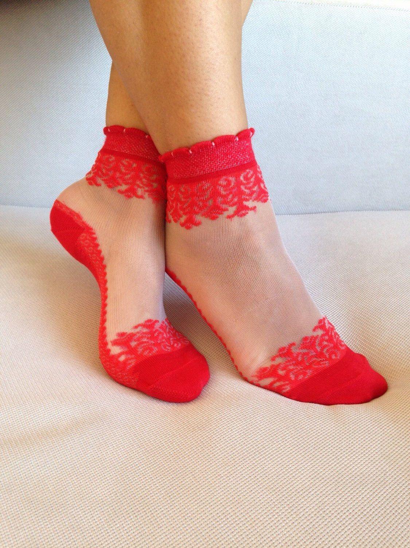cb3e53581 Women Socks Christmas Gift Transparent Socks Nylon Ankle Socks Hosiery  (6.99 USD) by Muggyshop