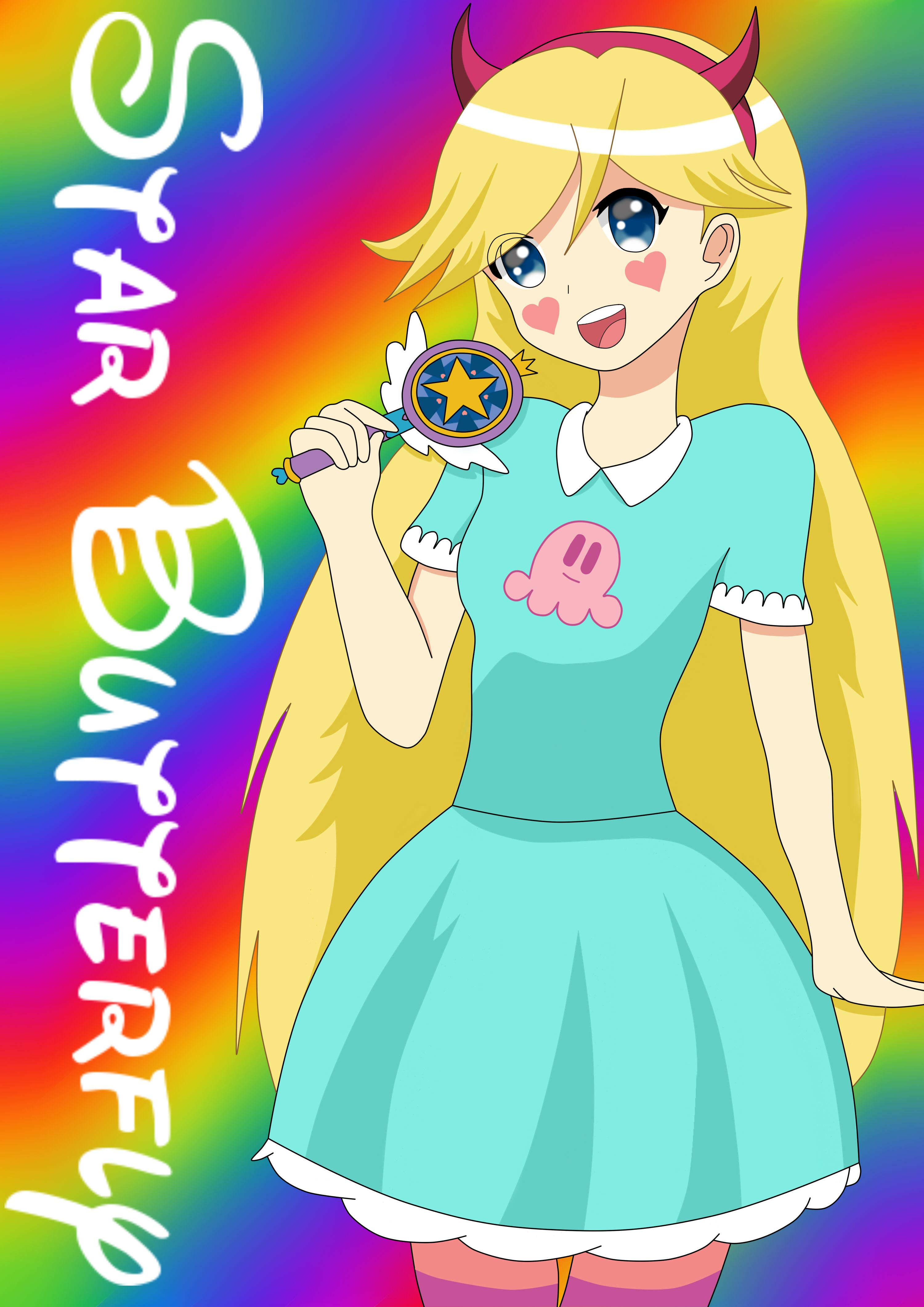 My Star Butterfly anime version *-*