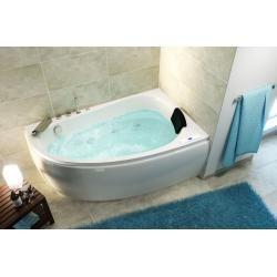 Stardust rechts Premium Whirlpool (L/B/H) 150/95/58,5 cm #emotionalcontrol