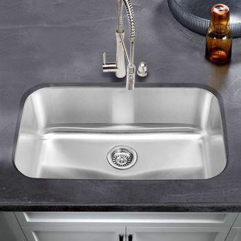 Blanco Stellar Stainless Steel Super Single Bowl Single Bowl Kitchen Sink Sink Inspiration Sink