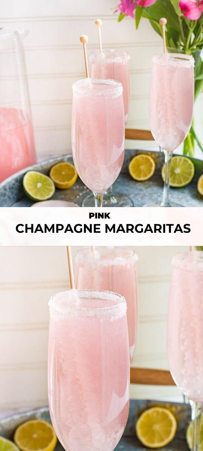 Photo of Pink Champagne Margarita | The Adventure Bite