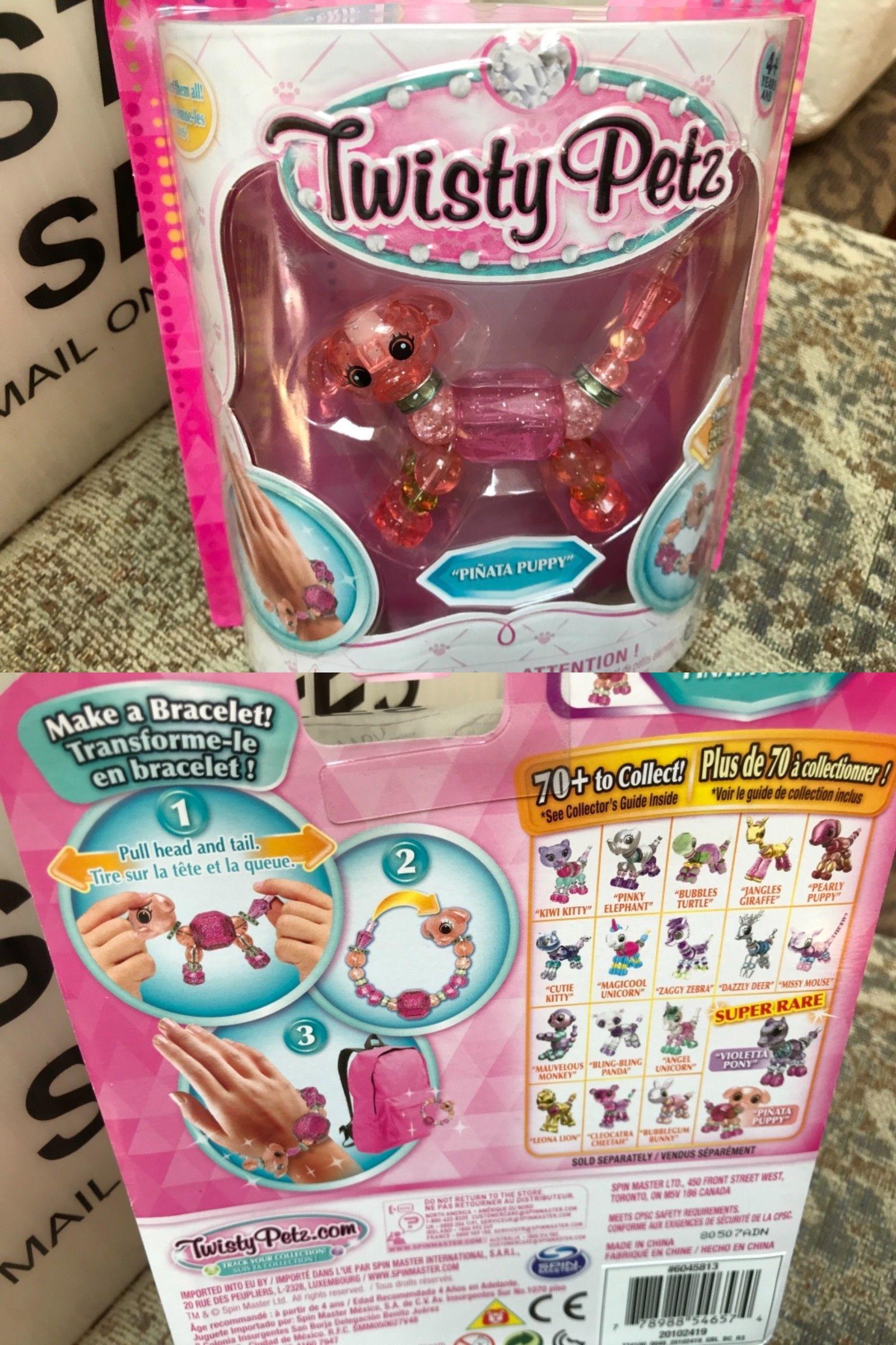 Hair Accessories Toys & Hobbies Twisty Petz Pets Super Rare Jojo Siwa Bow Bowbow Transform Pet To Bracelet Rare