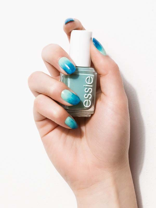 These candy-colored, ombre nails are just the ticket to satisfy your spring style cravings.