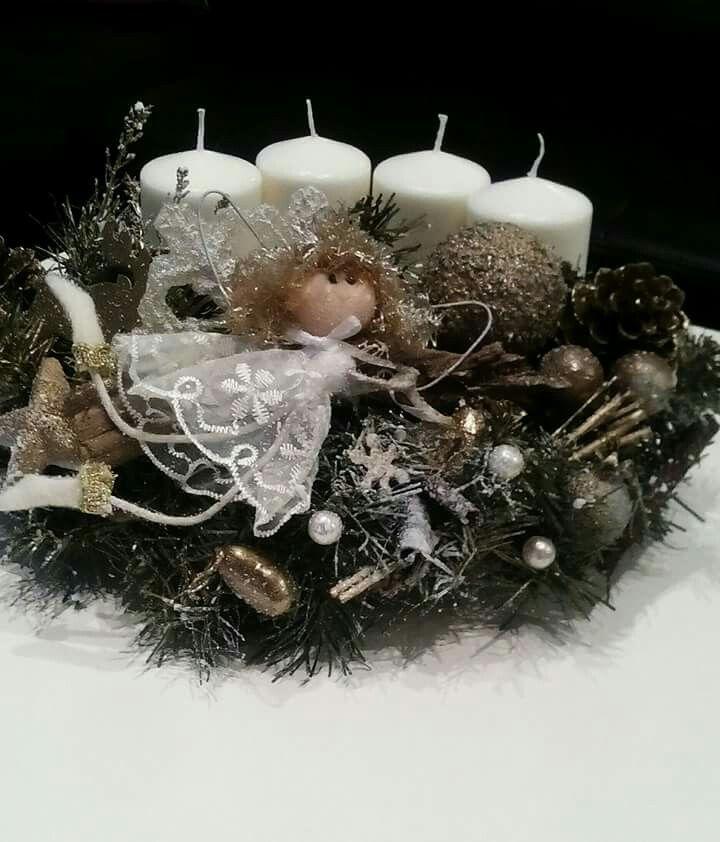 Pin By Gordana Gavranovic On Advent Vijencic Pillar Candles Candle Holders Candles