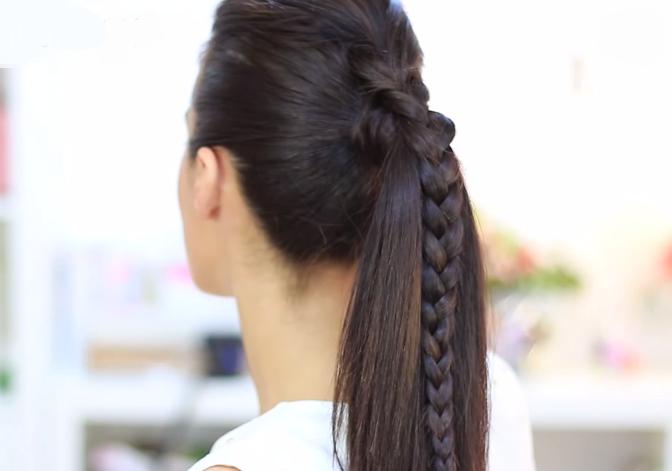 Fotos de peinados con trenzas faciles trenzas y peinados - Peinados recogidos con trenzas ...