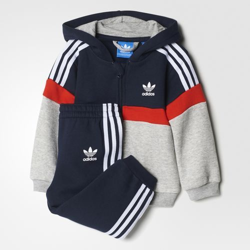 ccfdb3daa1171 adidas - Conjunto Saco con Capucha Trifolio   Fashion and more ...