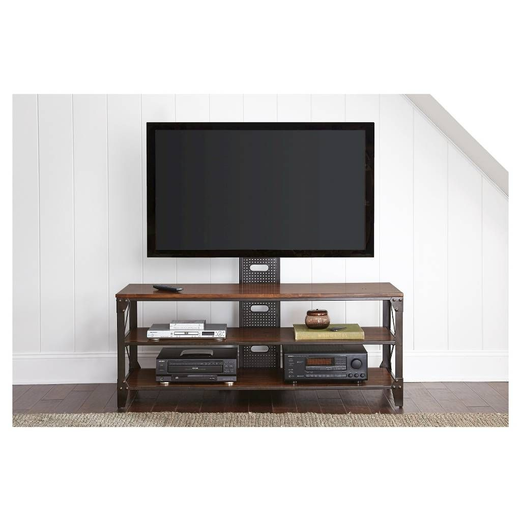 Modern Industrial Tv Stand With Removable Flat Screen Mount Target Henri Tv Stand With Mount Tv Stand With Mount Tv Stand Contemporary Living Room Furniture 60 tv stand with mount