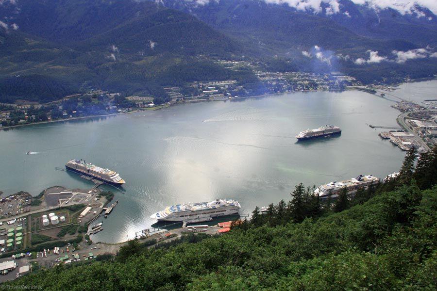 Juneau Alaska Cruise Ship Peak Hour Juneau Alaska Travel Wonders Of The World Alaska Travel Juneau Alaska