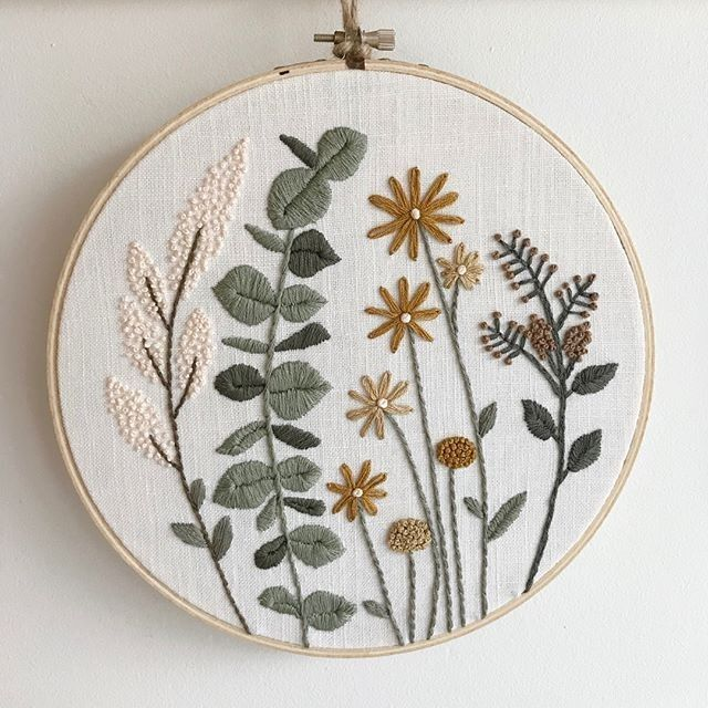 "DamnGoodStitch on Instagram: ""by @wildhomeworkshop . . . . . #embroidery #embroideryart #embroideryartist #fiberart #broderie #sewing #stitches #stitching #stitcher…"" – embroidery"