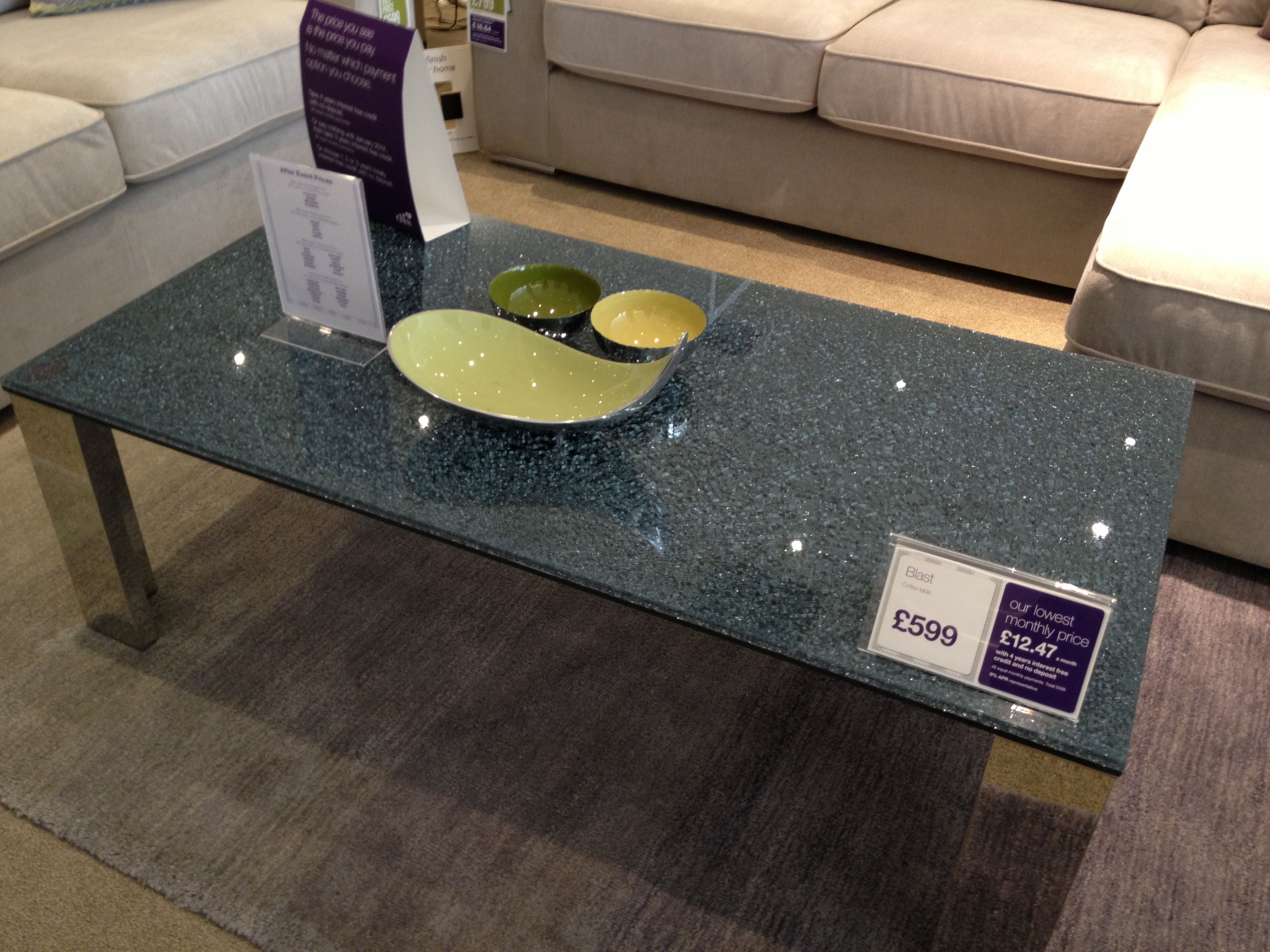 DFS cracked glass coffee table Lounge Ideas Pinterest Dfs