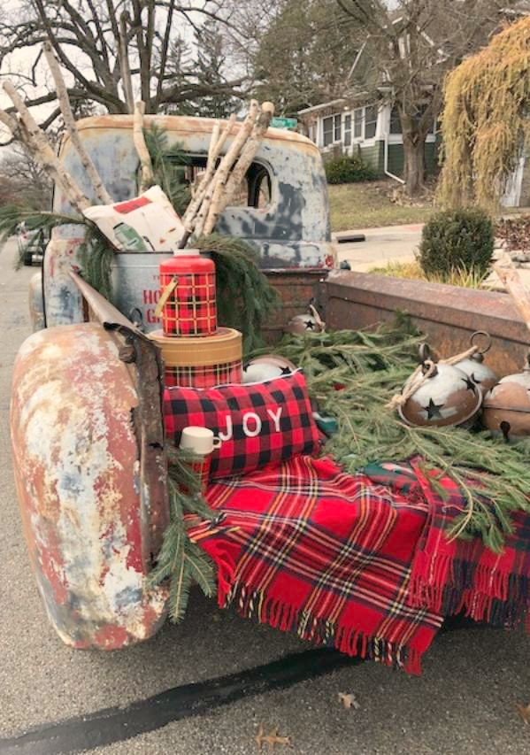 33 American Farmhouse Christmas Decor Ideas #christmasdecor