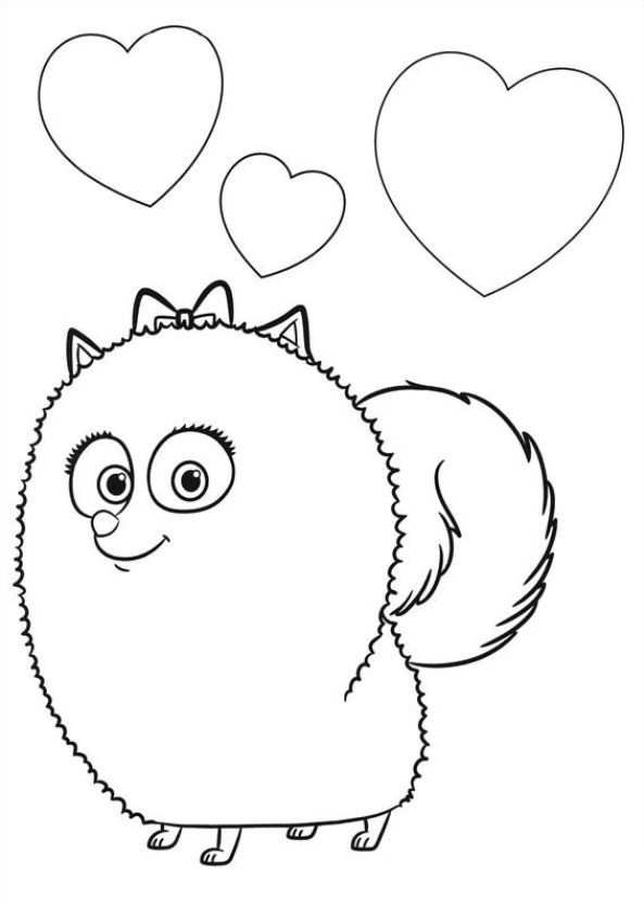 29 coloring pages of Secret Life of Pets on Kids-n-Fun.co.uk. On ...