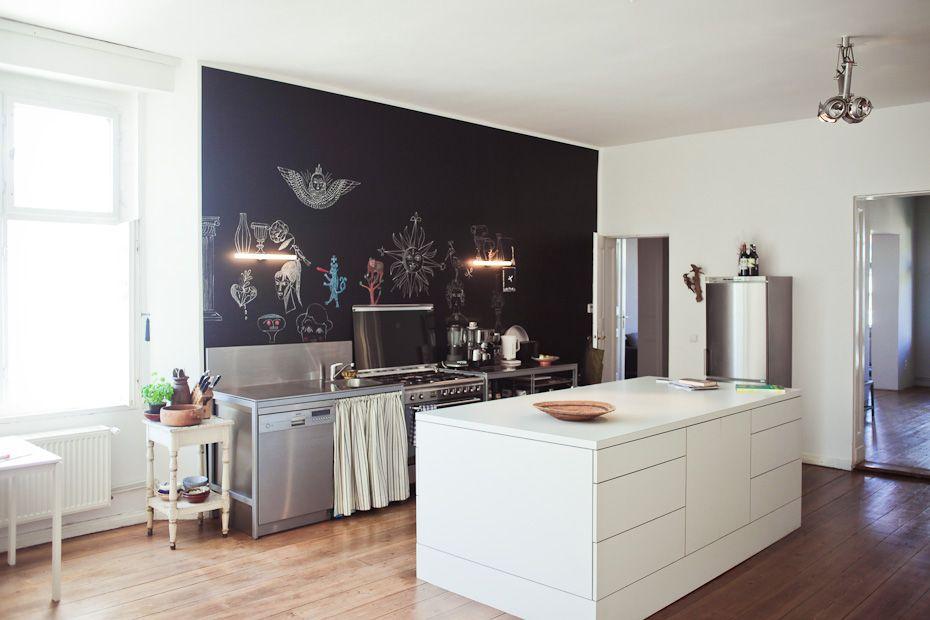PITTURA LAVAGNA ANCHE IN CUCINA   casa nel 2018   Cucine, Lavagna e ...