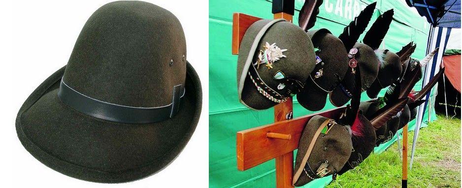 Il cappello alpino 607fcccb5944