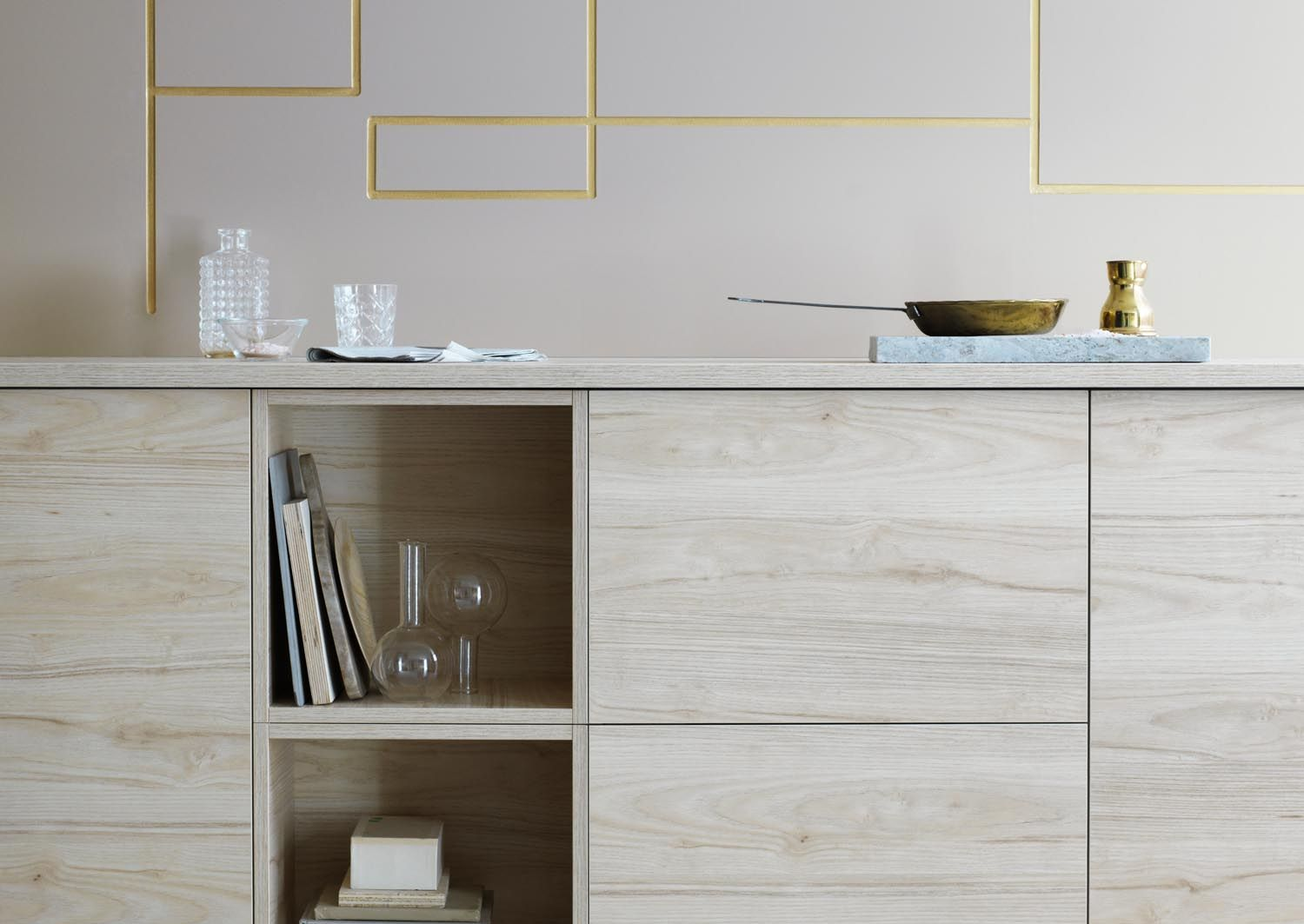 Best Askersund Bleached Wood Kitchen Cabinets Ikea's New 400 x 300