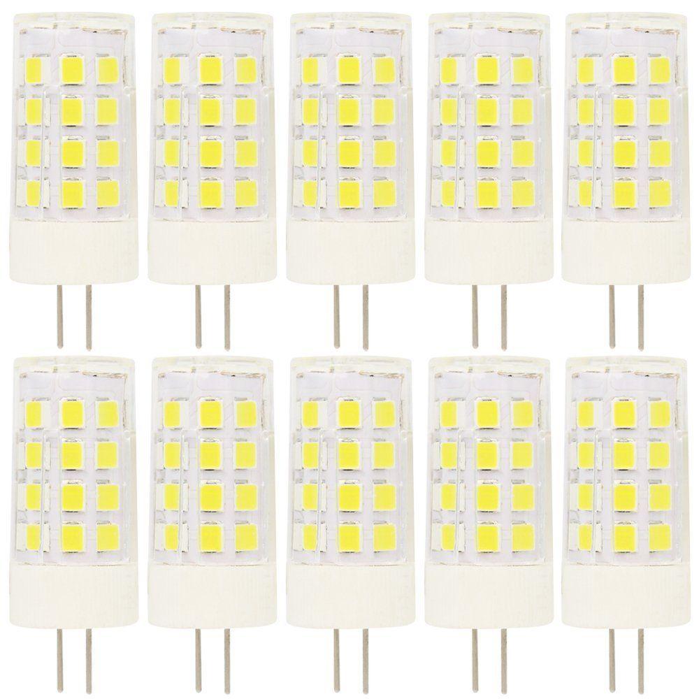 10 St Ck G4 Led Stiftsockellampe 5watt 12v Ac Dc Kaltwei Aus Keramik Lampe Leuchte Leuchtmittel Kerzenform Halogenersatz In 2020 Leuchtmittel Keramik Lampen Led