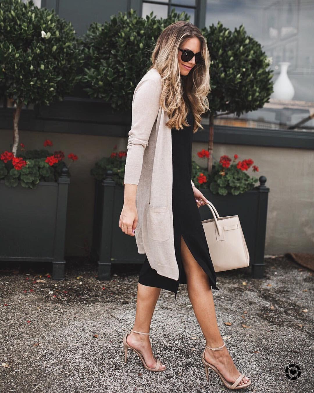 """6d7c6f9d3e7 Ashley Robertson ( theteacherdiva) on Instagram  """"styling this slip dress  with  splendidla    nordstrom on the blog 🖤 all details via link in bio  or…"""""""