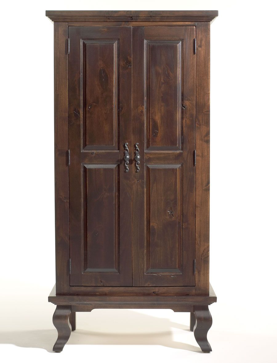Beau One Coat Of Antique Gel Stain From General Finishes On Unfinished Furniture  Armoire.