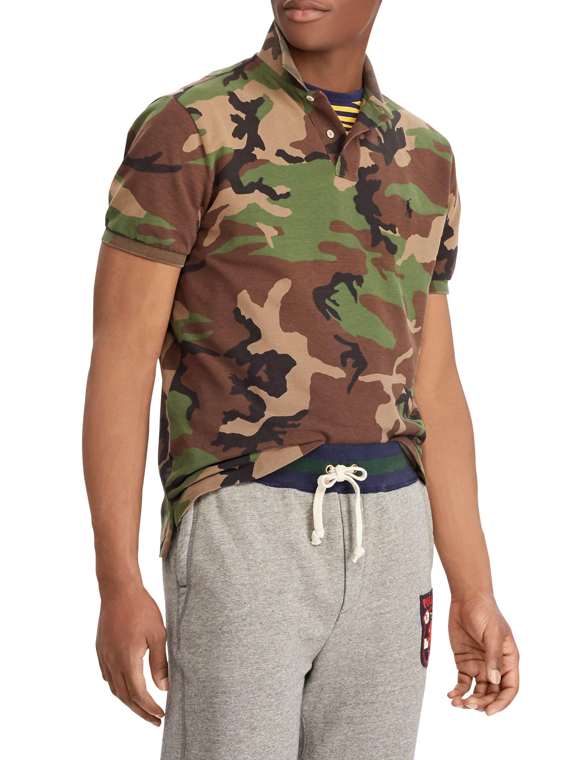 8d3a0ad22552d Ralph Lauren Custom Slim-Fit Camo Polo Shirt - Medium   Products ...