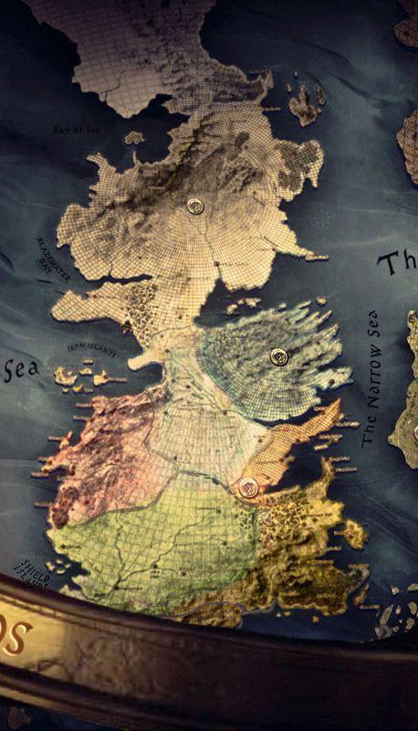 Game Of Thrones Map Desktop Wallpaper